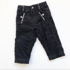 Burberry black corduroy pants